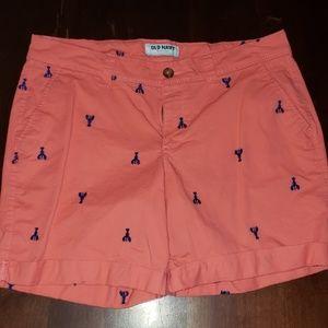 Old Navy lobster shorts